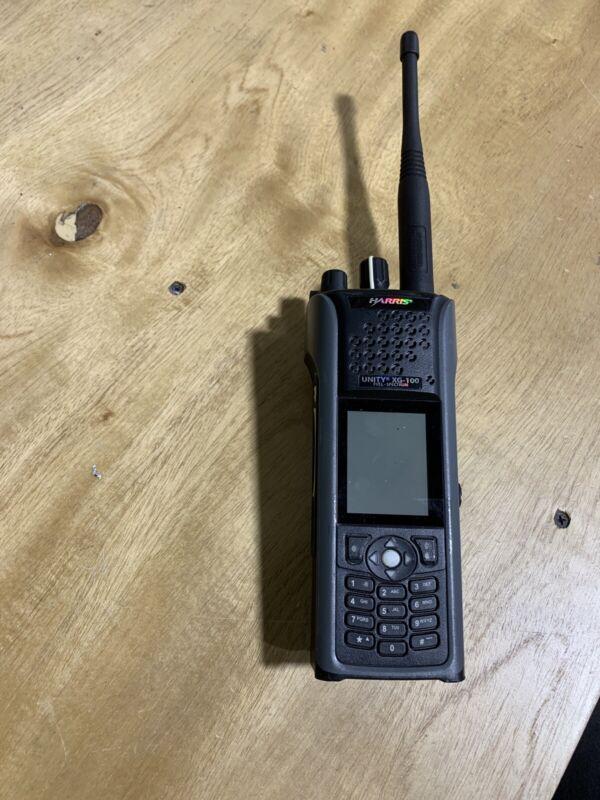 Harris Unity Xg-100F Single Radio No Battery, No Charger