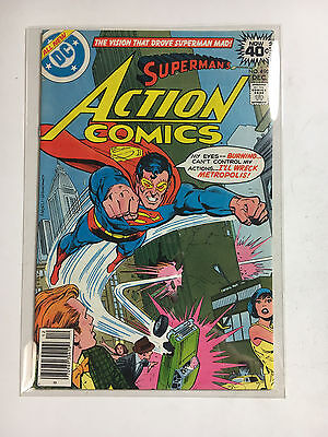 Action comics #490 NM-  Superman DC 1978  High Grade