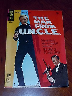 The Man From Uncle  9  1966  F Vf Cond  Photo Cover Tv