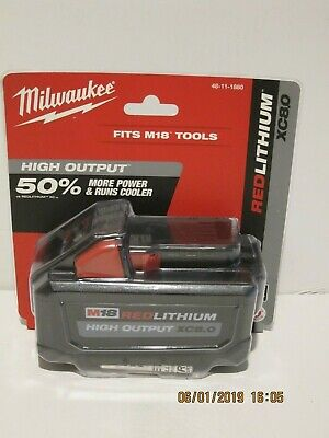 Milwaukee 48-11-1880 M18 REDLITHIUM HIGH OUTPUT XC8.0 Battery BRAND NEW 2019 DAT