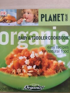 Thermomix baby toddler cookbook nonfiction books gumtree planet organic baby toddler cookbook forumfinder Choice Image