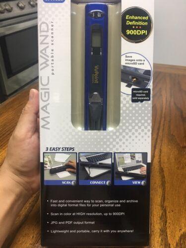 VuPoint Magic Wand Hand Scanner - PDS-ST415BU-VP Blue docume