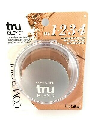 Cover Girl Mineral Foundation (CoverGirl Tru Blend Mineral Pressed Powder Foundation Translucent Honey 03)