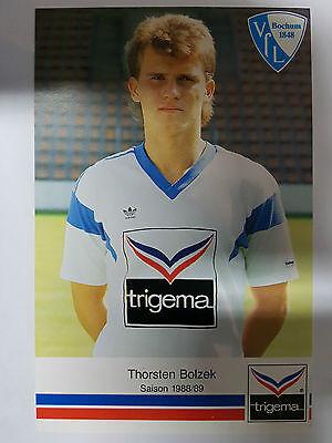 AK o.Orig.AG Thorsten Bolzek Fußball VFL Bochum Saison 88/89 Rarität!