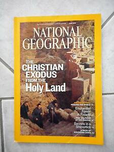 National Geographic June 2009 Christians & Holy Land Amazon Pink Carindale Brisbane South East Preview