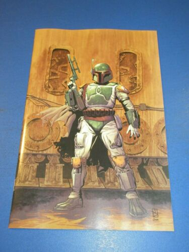Star Wars War of the Bounty Hunters Alpha #1 Duursema virgin Variant NM Gem Wow