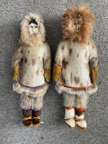 ANTIQUE ALASKAN DOLLS