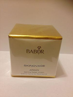 Babor Skinovage Argan Calming Repair Cream 50ml(1.7oz) Brand New * Sale
