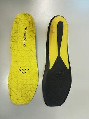 SUPERFEET Einlegesohlen für Schlittschuhe   gelb schwarz diverse