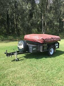 GIC  semi off road camper trailer Kanwal Wyong Area Preview
