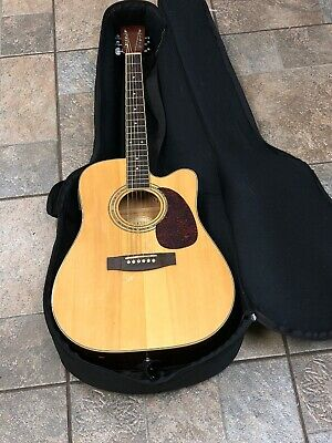 Zager ZAD-50CE Acoustic Electric Guitar