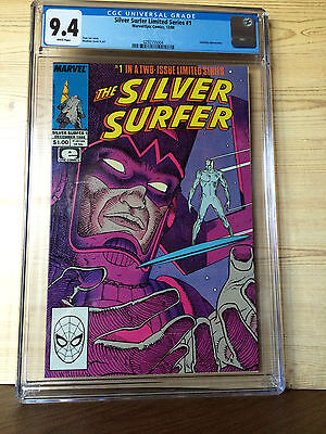 The Silver Surfer #1 (Dec 1988, Marvel) CGC 9.4 Galactus appearance