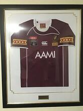 Queensland State of Origin 2011 series win jersey COA suppli...