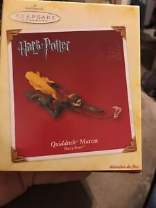 Hallmark Keepsake Ornament 2005 Harry Potter Quidditch Match Golden Snitch