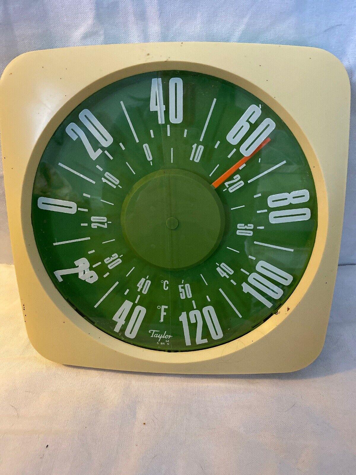 Кухонные термометры (Кухонные инструменты и гаджеты) Vintage Taylor Outdoor Circle Thermometer I3