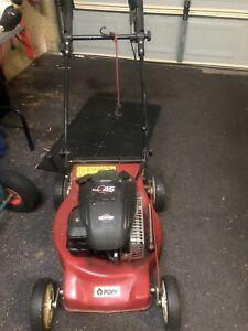 Pope lawn mower