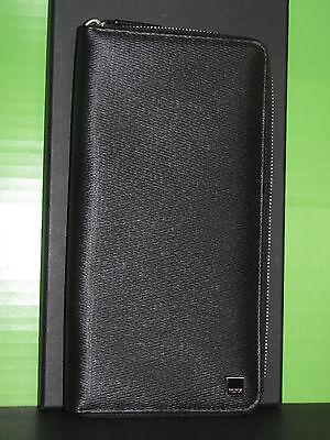 Tumi MONACO Zip Travel Passport Wallet Black Leather 18277 NWT Fine Men's Gift