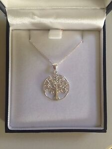 Silver Tree Necklace Wakerley Brisbane South East Preview