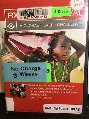 Rx for Survival: A Global Health Challenge (DVD, 2006, 3-Disc