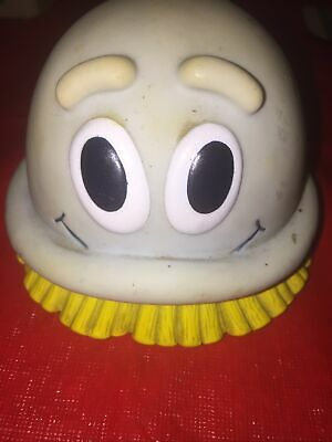Vtg Scrubbing Bubble Advertising Character Squeak Toy Figure 1990