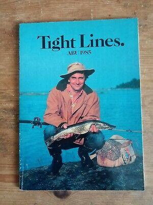 TIGHT LINES ABU BROCHURE 1985 GOOD