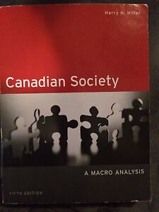 Canadian Society: A Macro Analysis Textbook