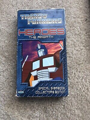 Transformers - Heroes: The Rebirth (VHS, 2001)