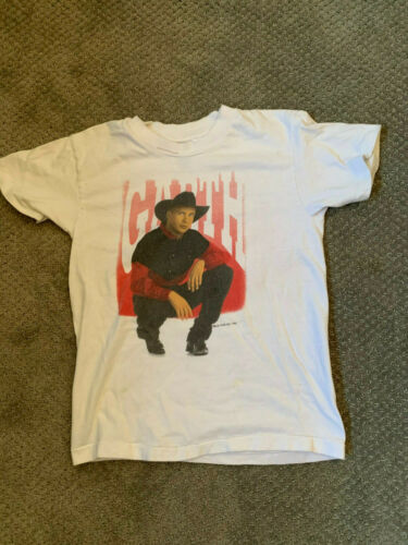VINTAGE 1993 GARTH BROOKS First Concert Tour T-Shirt KIDS MEDIUM