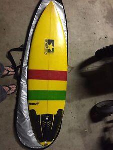 Surfboard - Bender Mini Gun Elimbah Caboolture Area Preview