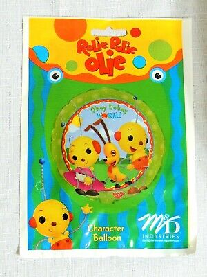 Party Balloon Packages (NEW  IN PACKAGE ~ 1- ROLIE POLIE OLIE ~HELIUM BALLOON -   -PARTY)