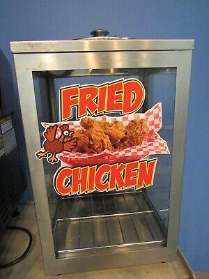 Apw Nc-1a Chicken And Nacho Chip Warmer Chips Display Case Merchandiser