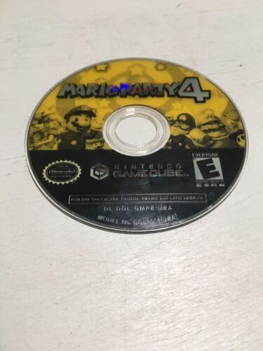 Mario Party 4 Nintendo GameCube, 2002 Game Disc Only MarioParty 4 - $49.99