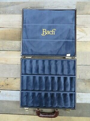 Genuine Bach Trumpet Mouthpiece Display Case - Holds 24 Trumpet Mouthpieces NEW!