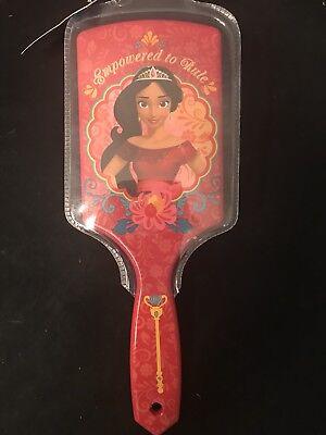 Disney Elena Avalor Large Paddle Hair Brush Hairbrush Red 9 inch Brush NWT for sale  Shipping to India