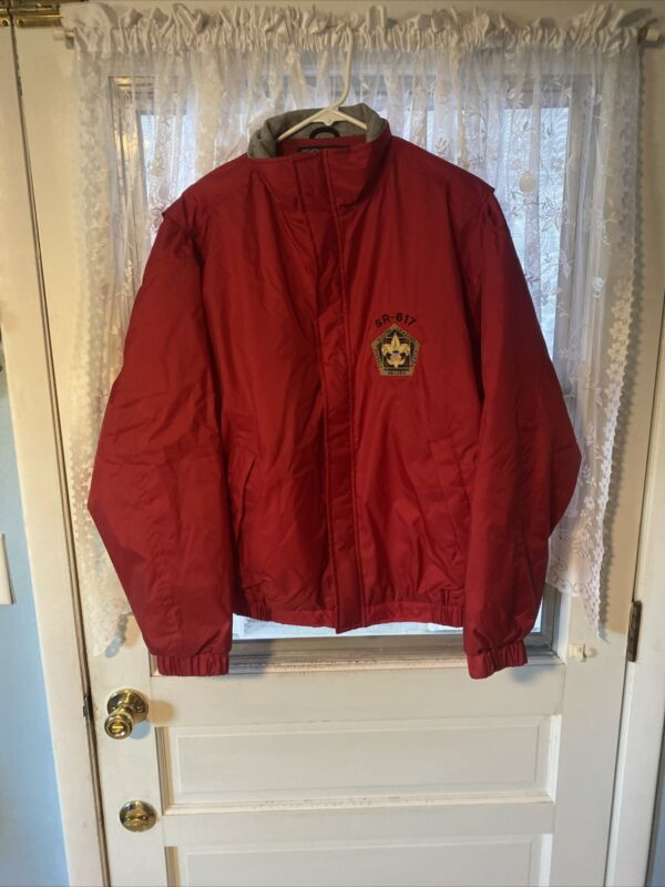 Wood Badge Course SR-617 Gulf Ridge Council Devon & Jones Jacket Size M 61-654A