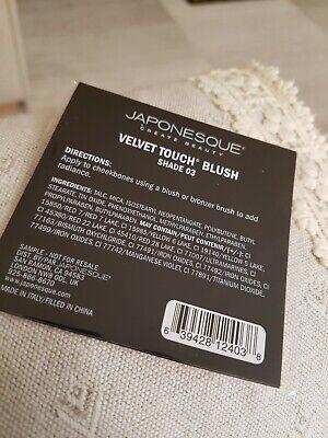 Japonesque Velvet Touch Blush Shade 03 0.15g Sample