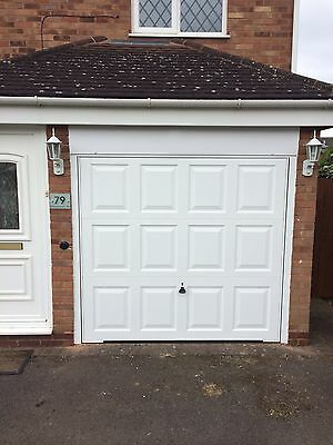 Garador Hormann Georgian Style Steel Canopy Door And Frame In White