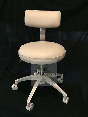 A-dec Doctor And Assistant Stool Set Refurbished Old Style