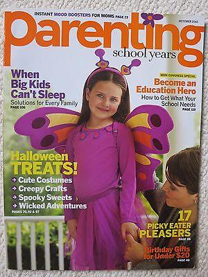 School Halloween Treats (Parenting School Years Magazine October 2010 Halloween)