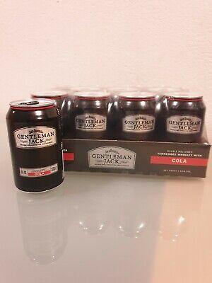 6 x Jack Daniels Gentleman Jack & Cola Dosen 0,33 ltr. 10% inkl. € 1,50 Pfand