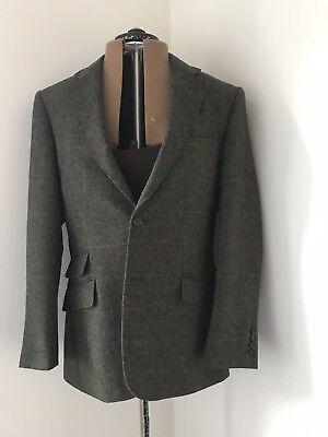 "New M&S Mens Yorkshire Tweed Wool Blazer, chest 38"", medium for sale  Wakefield"