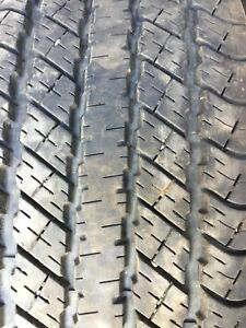 Set of five Goodyear Wrangler HP tires