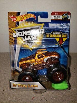 Hot Wheels Monster Jam Truck 1:64 Diecast Truck El Toro Loco