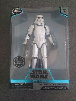 Disney Elite Series Star Wars Rogue One Imperial Stormtrooper Die Cast Figure