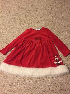 Girls Christmas dress size 5T