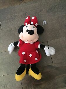 Mini Mouse (peluche) authentique Dysney