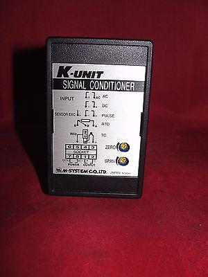 M-systems K-unit Signal Conditioner Krs-4a-r