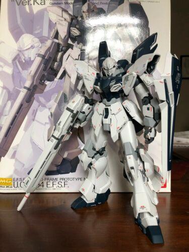 Master Grade MG Gundam Sinanju Stein Ver. Ka 1/100 Bandai - Completed Model