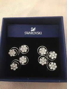 Swarovski Hair Coil Crystal Flowers Bellmere Caboolture Area Preview