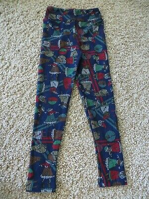 LuLaRoe Christmas Leggings - Kids - Size S/M - Cats & Dogs in Nightgowns!  NEW!